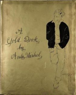 andy warhol gold book